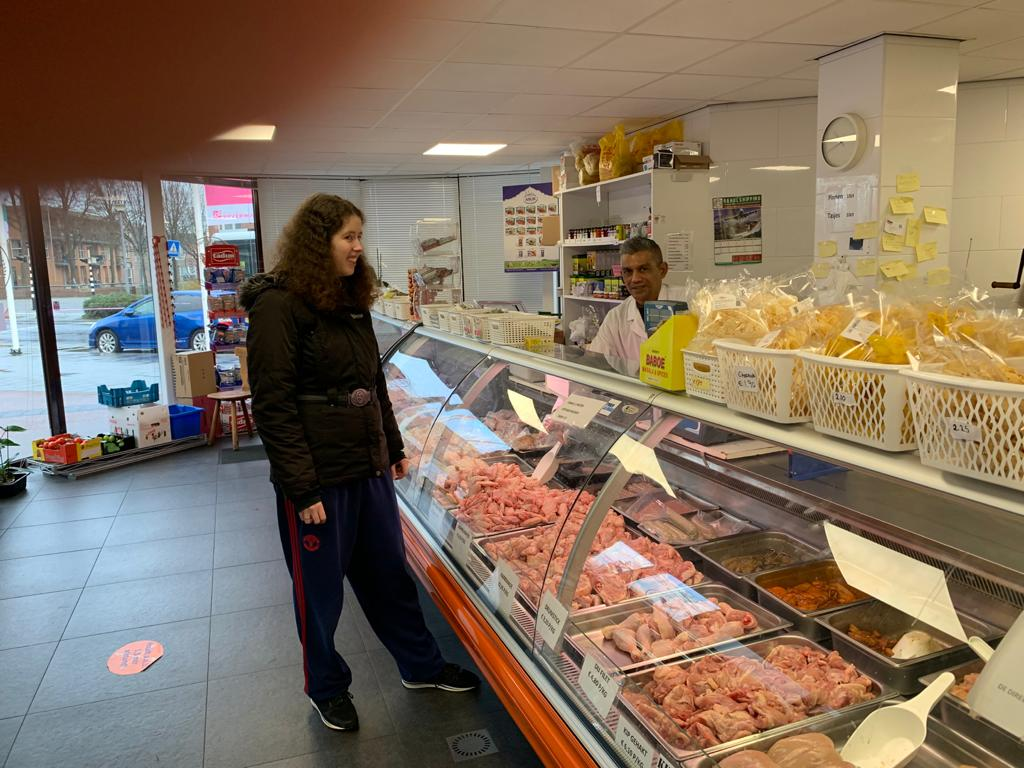 Islamitische slagerij in Rotterdam